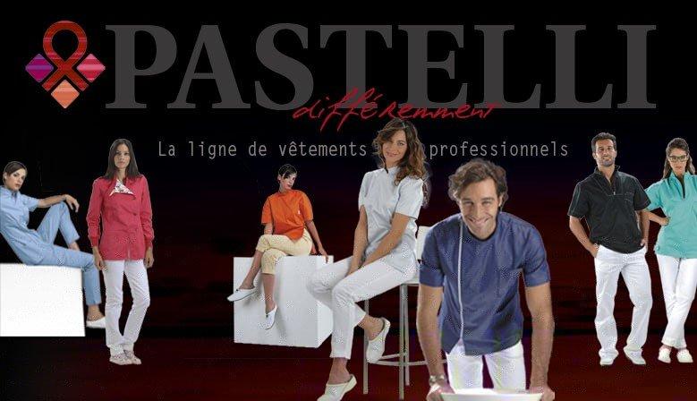 Pastelli France - la ligne de vetements professionnels